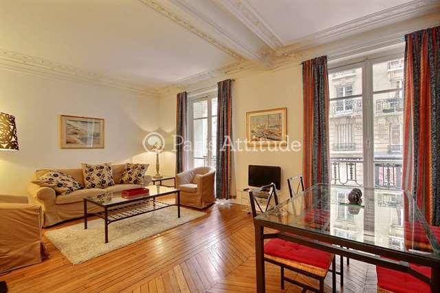 Rent furnished Apartment 2 Bedrooms 85m² rue Jose Maria de Heredia, 75007 Paris
