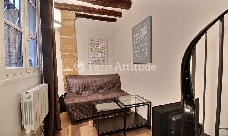 Location Duplex Studio 18m² rue Greneta, 2 Paris