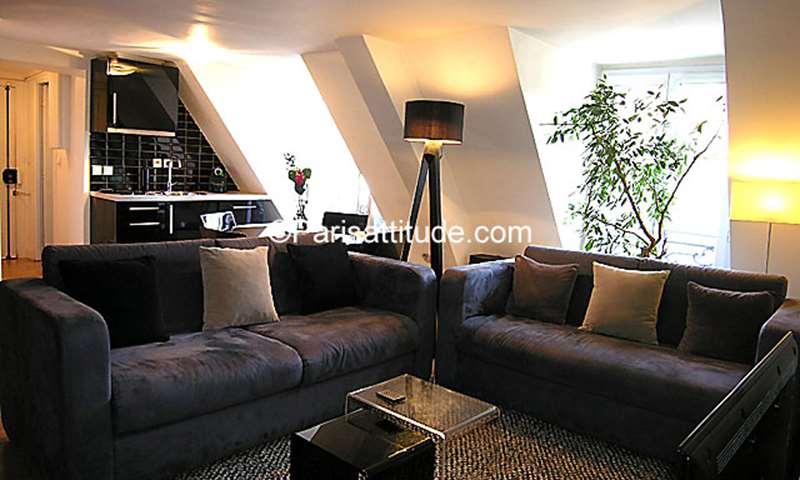 Rent Apartment 1 Bedroom 44m² rue de la Tour d Auvergne, 9 Paris