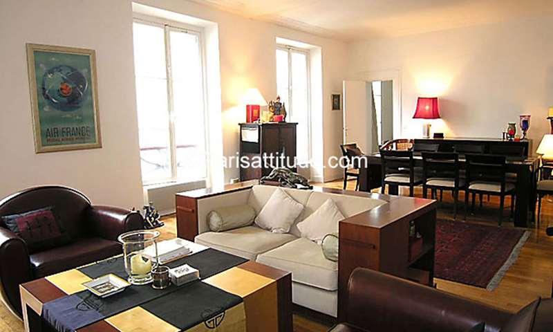 Location Appartement 2 Chambres 110m² rue Reaumur, 2 Paris