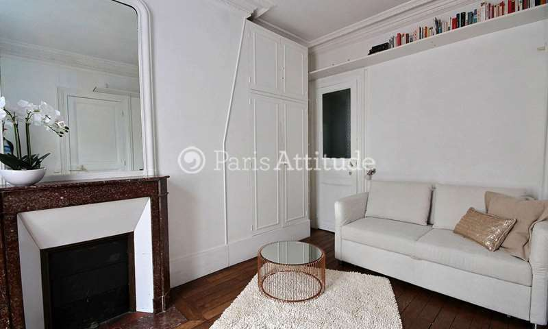 Rent Apartment Studio 25m² rue du Sergent Hoff, 75017 Paris