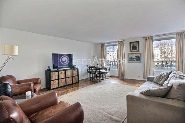 Louer Appartement meublé 2 Chambres 80m² boulevard Saint Germain, 75005 Paris