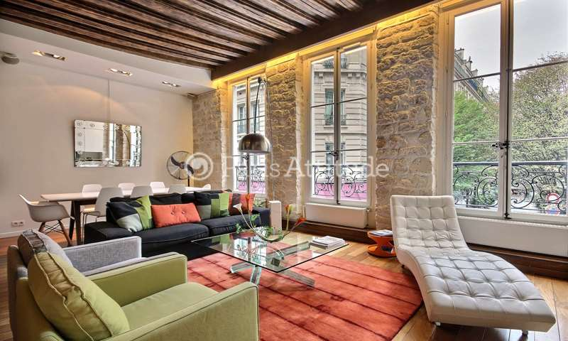 Rent Apartment 1 Bedroom 100m² rue Vieille du Temple, 75004 Paris