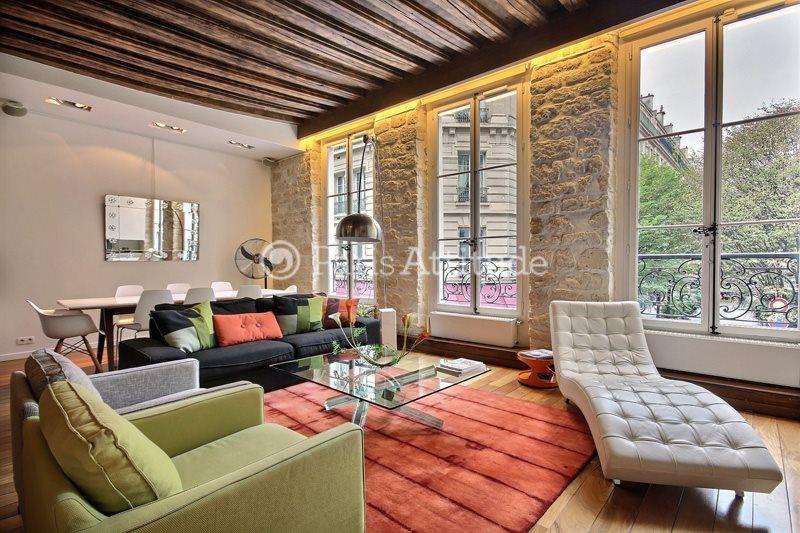 Louer Appartement meublé 1 Chambre 100m² rue Vieille du Temple, 75004 Paris