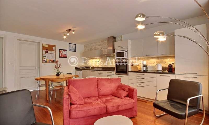 Rent Apartment 2 Bedrooms 55m² rue Beaurepaire, 10 Paris