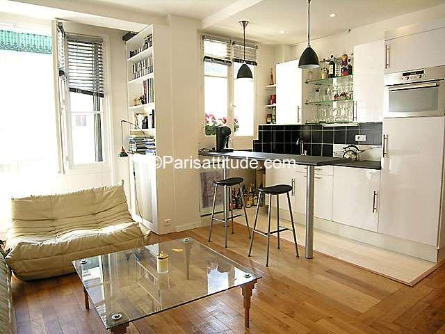 Rent furnished Apartment 1 Bedroom 45m² rue Volta, 75003 Paris