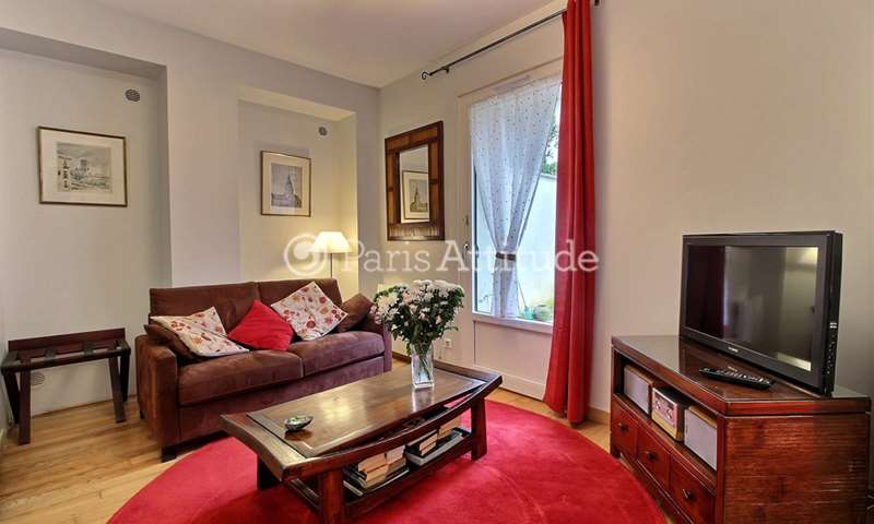Rent Apartment Alcove Studio 34m² rue Cauchois, 75018 Paris