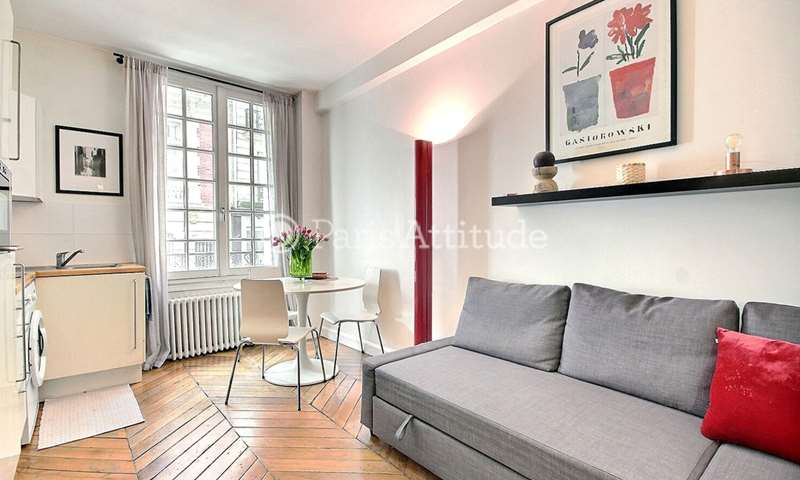 Rent Apartment Studio 23m² rue Juliette Lamber, 75017 Paris