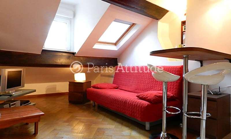 Rent Apartment Studio 22m² rue de Laborde, 75008 Paris