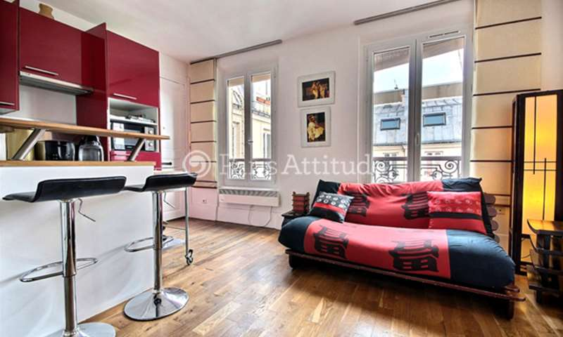 Rent Apartment Studio 20m² avenue Trudaine, 9 Paris