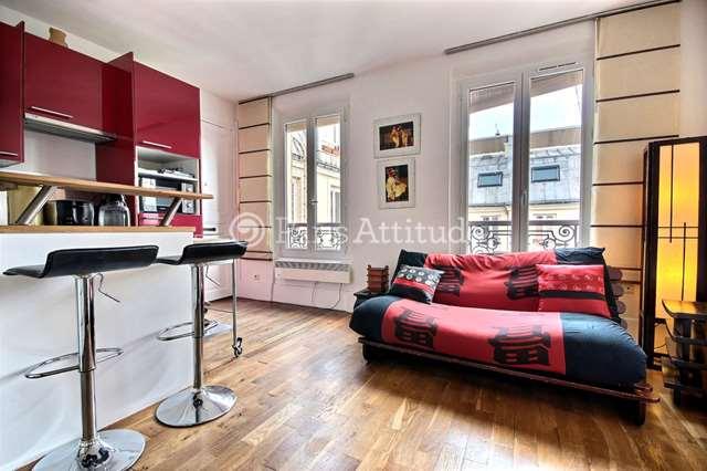 Louer Appartement meublé Studio 20m² avenue Trudaine, 75009 Paris
