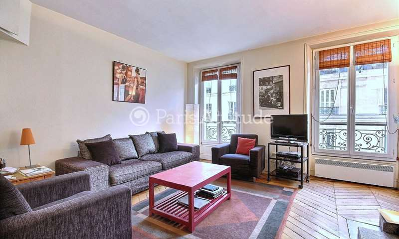 Rent Apartment 2 Bedrooms 70m² rue Nicolas Flamel, 4 Paris