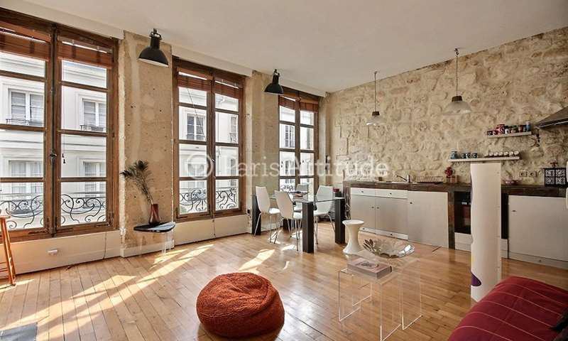 Rent Apartment 1 Bedroom 50m² rue Saint Honore, 1 Paris