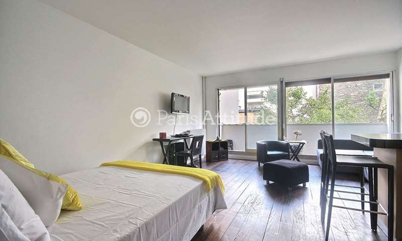 Rent Apartment Alcove Studio 37m² Rue de l Amiral Hamelin, 75016 Paris
