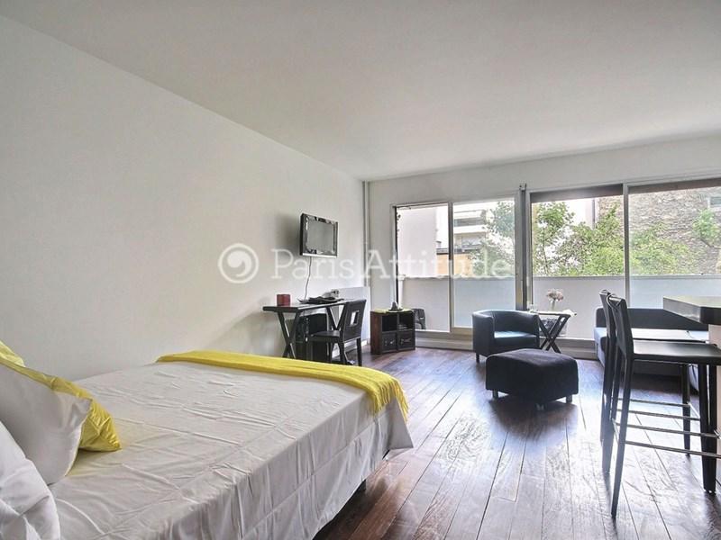 Rent apartment in paris 75016 37m trocadero champs for Alcove studio