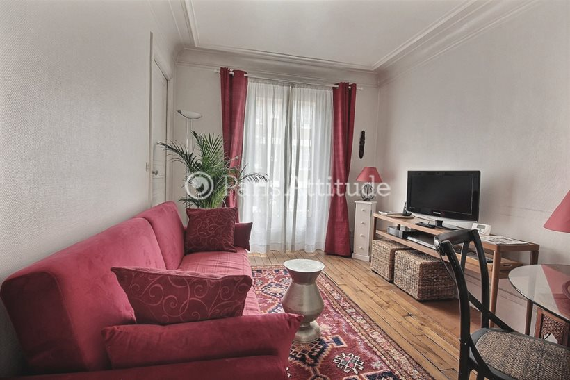 Louer Appartement meublé 2 Chambres 40m² rue de Clignancourt, 75018 Paris