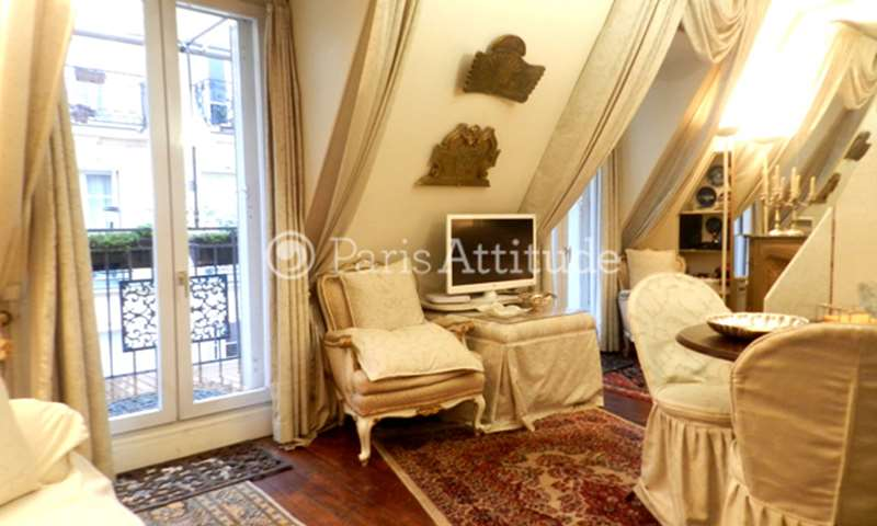 Rent Apartment Studio 31m² rue Chapon, 75003 Paris