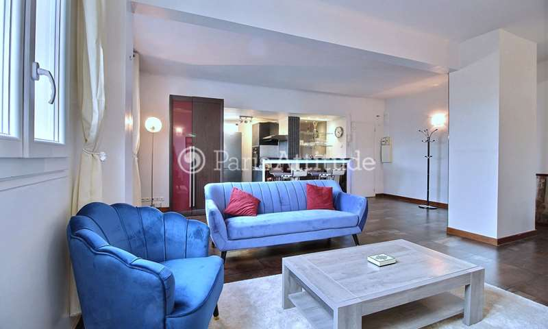 Rent Apartment 2 Bedroom 88m² rue Bachelet, 75018 Paris