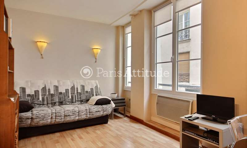Rent Apartment 1 Bedroom 32m² rue Greneta, 75002 Paris