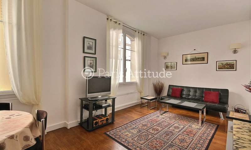 Rent Apartment 1 Bedroom 40m² rue Guillaume Tell, 75017 Paris