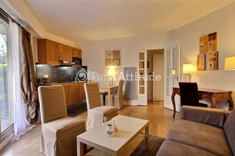 Rent furnished Apartment 1 Bedroom 42m² rue Cino Del Duca, 75017 Paris