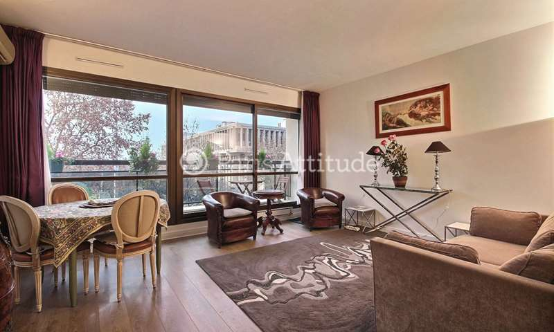 Rent Apartment 2 Bedrooms 70m² boulevard Lannes, 16 Paris