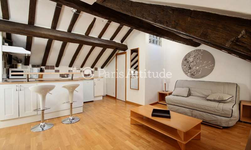 Rent Apartment Studio 18m² rue de Turenne, 75003 Paris