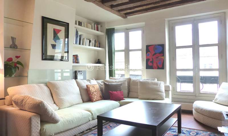 Rent Apartment 2 Bedrooms 83m² rue de la Ferronnerie, 1 Paris
