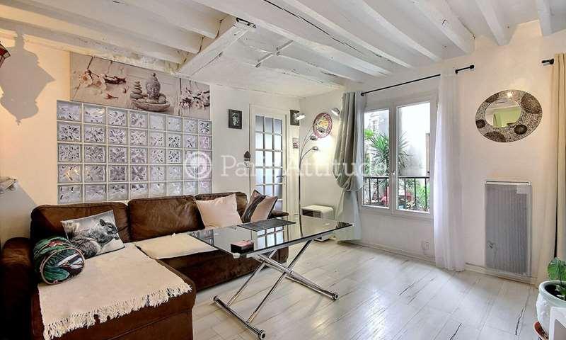 Rent Apartment 1 Bedroom 42m² rue Rambuteau, 3 Paris