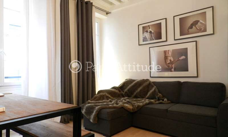 Rent Apartment 1 Bedroom 30m² rue des Vertus, 75003 Paris