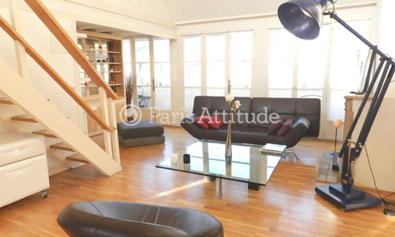 Rent Duplex 1 Bedroom 75m² rue Saint Louis en l Île, 75004 Paris