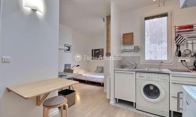 Rent Apartment Studio 22m² rue Dulac, 15 Paris