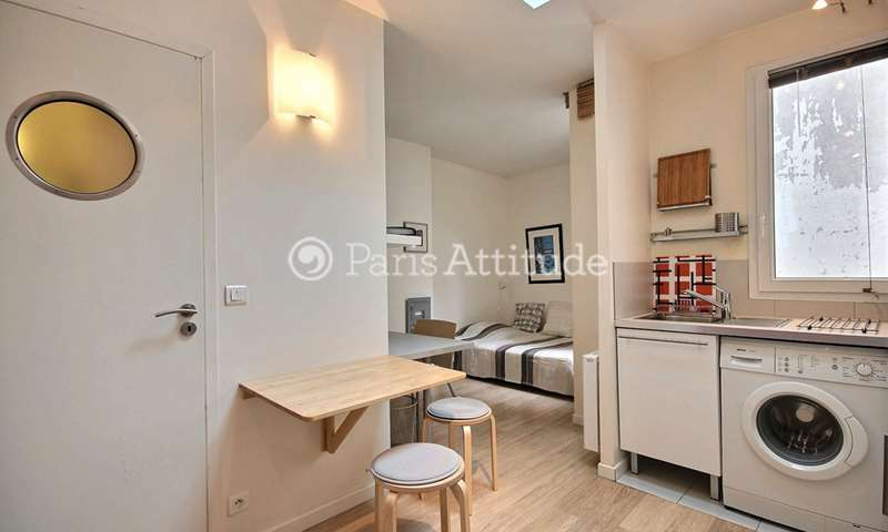 Rent Apartment Studio 22m² rue Dulac, 15 Paris