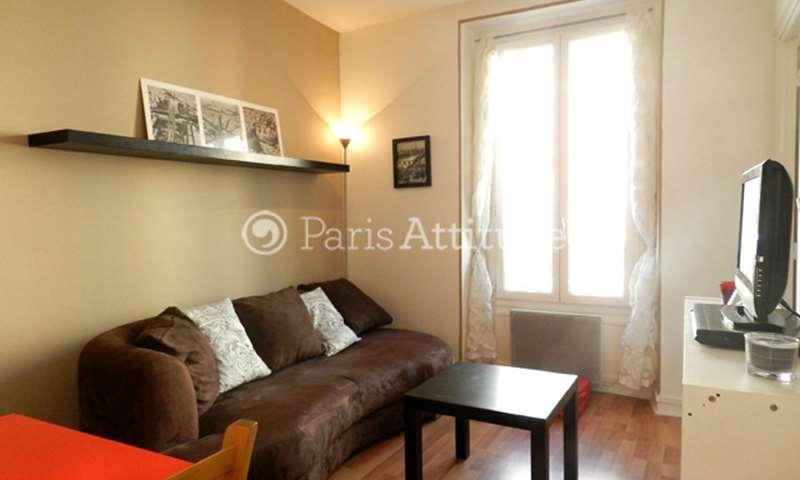Rent Apartment 1 Bedroom 25m² Rue Sambre et Meuse, 10 Paris