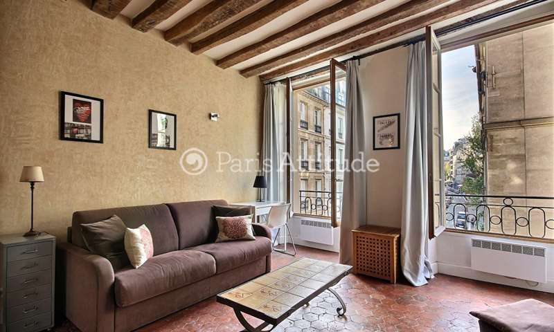 Rent Apartment Studio 28m² rue Jacob, 6 Paris