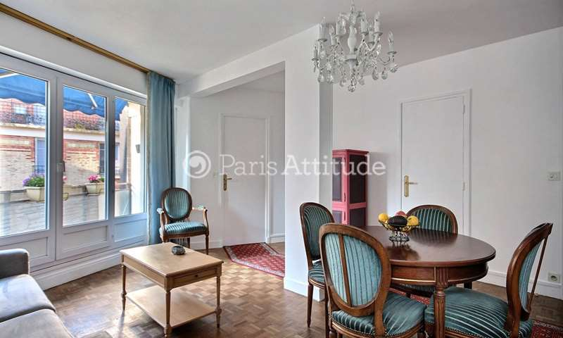 Rent Apartment 1 Bedroom 45m² rue Victor Duruy, 15 Paris