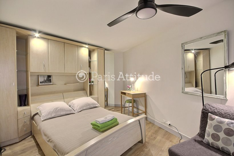 Rent furnished Apartment Alcove Studio 26m² rue de Turenne, 75003 Paris