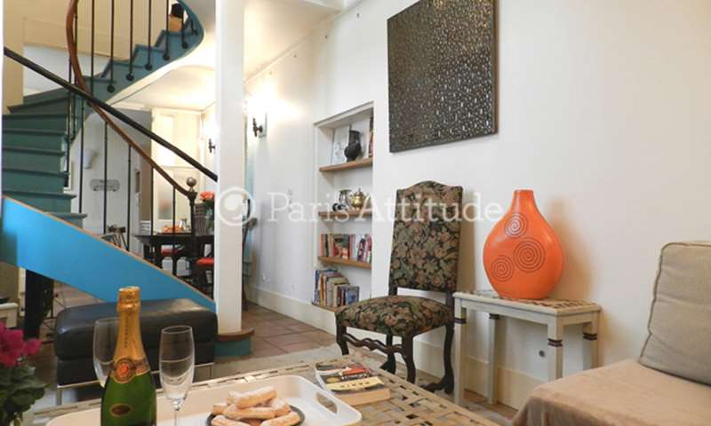 Rent Townhouse 3 Bedroom 110m² rue des Archives, 75003 Paris