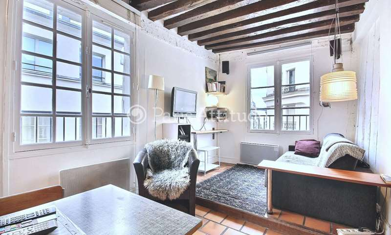 Location Appartement Alcove Studio 25m² rue Tiquetonne, 75002 Paris