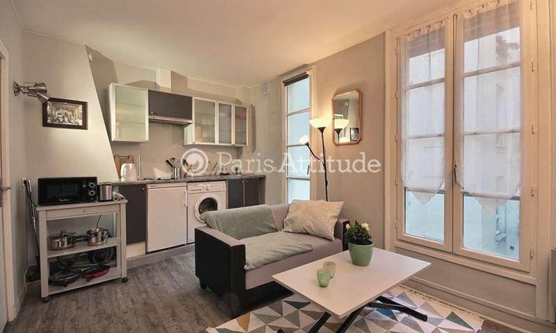 Rent Apartment Studio 22m² rue Saint Georges, 75009 Paris