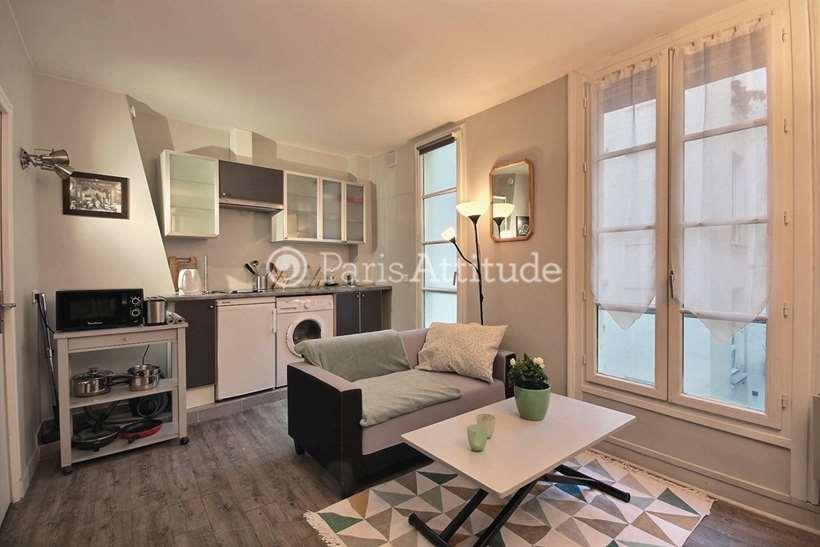 Aluguel Apartamento mobiliado Quitinete 22m² rue Saint Georges, 75009 Paris