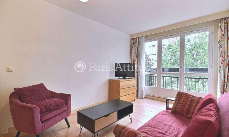 Rent Apartment 1 Bedroom 42m² rue du Capitaine Marchal, 20 Paris