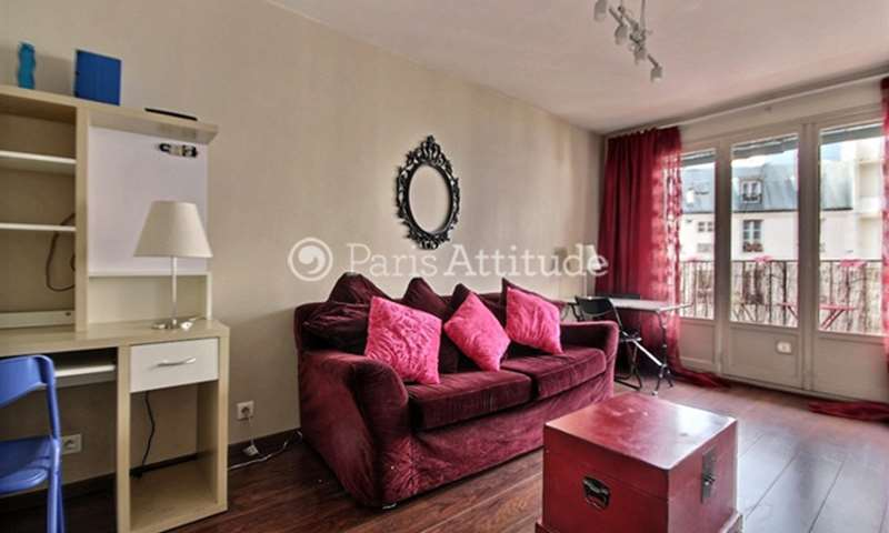 Rent Apartment Studio 23m² rue de Citeaux, 12 Paris