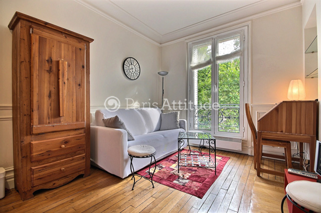 Rent Paris  Apartment 1 Bedroom 27 m² La Motte Picquet Grenelle - avenue de Suffren 75015 Paris