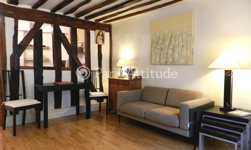 Rent Apartment 2 Bedrooms 58m² rue Pecquay, 4 Paris