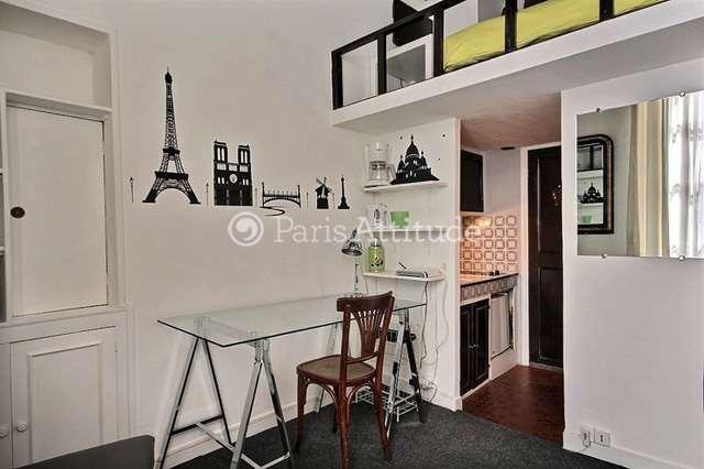 Rent Apartment in Paris 75002 - 12m² Montorgueil - ref 2713