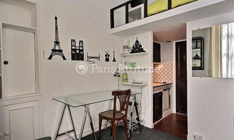 Location Appartement Studio 12m² rue du Croissant, 75002 Paris