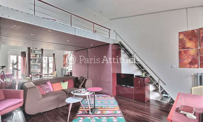 Rent Apartment Studio 35m² rue du Colonel Moll, 17 Paris