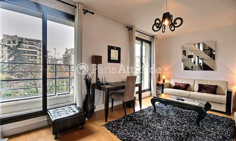 Rent Apartment Studio 28m² avenue Marcel Proust, 16 Paris
