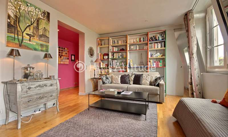 Rent Apartment 1 Bedroom 65m² rue Saint Jacques, 75005 Paris